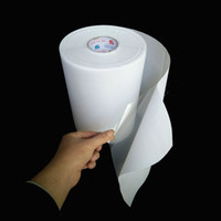 3.0C / 28cm-100m / lot Lot Hotfix Papier Mylar Document de transfert à chaud pour coller SS6 SS10 SS16 STONES