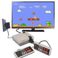 أعلى جودة FC Mini TV Video Handheld Game Console FamiCom 620 Games نظام 8 بت للترفيه للألعاب الكلاسيكية Nesalgic Host Cradle