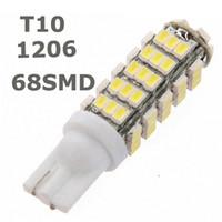 20X T10 68LED 1206 68 SMD LED Car T10 68smd 1206/3020 W5W 194 927 161 Lampadina luce laterale a cuneo per luci targa