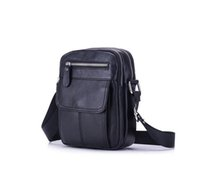 Genuine Leather Bag Men Messenger Bags Men' s Crossbody ...