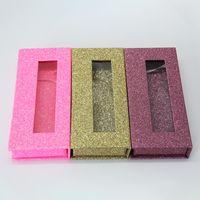 gros carré faux cils emballage boîte logo personnalisé faux 3d vison cils boîtes cas magnétique cils boîte vide