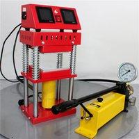 Piastre Press 15ton idraulica Rosin macchina della pressa AR1701 della pressa di calore 800W doppio riscaldata 4.7x4.7 pollici professionale tool kit cera di petrolio di estrazione