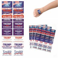 Donald Trump Aufkleber Notebook Kühlschrank Autoaufkleber 2020 Presidential Election-Gesichts-Aufkleber Halten Make Amerika Große HHA1321N