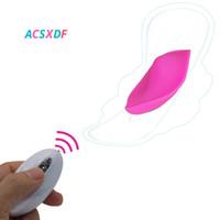 ACSXDF 10 Velocità Ricaricabile Telecomando Remote Vibratore Femminile Clitoris Stimolazione Masturbazione Giocattoli del sesso per le donne