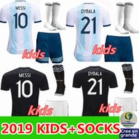 Copa America 2019 kids Argentina home football shirts 2020 a...