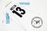 Envío gratis lazio 2000 inicio salas # 9 mihajlovic # 11 inzighi # 21 nesta # 13 crespo # 10 veron # 23 claudio # 7 pancaro # 15 camiseta vieja de fútbol