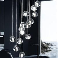 Lüks LED Kristal kalp şekli Avizeler 1 ~ 36 kafa Sarkıt Otel Hall Mall için LED G4 lambaları ile DIY Tavan droplight Aydınlatma