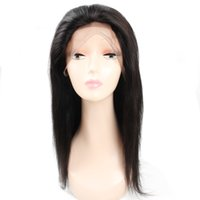 Brazilian Straight Human Hair Wigs With Baby Hair 13*4 Lace ...