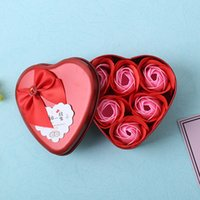 Best Valentine' s Day Gift 6 Pieces Soap Rose With Gift ...