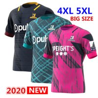 Hot ventes 2020 Highlanders Primeblue Super Rugby maillot 2020 Nouvelle-Zélande home shirt Rugby Maillots Highlander Rugby Jersey 5xl