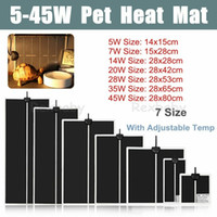 7 Sizes Advanced Terrarium Heating Mat Pet Heater Warm Vivar...