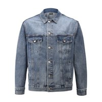 tty Mens Denim Jacket Famous Men High Quality Casual Coats Black Fashion Mens Jacket Stylist Outwear Size S-XL