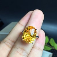 Natural Brazilian Citrine Ring, The Most Dazzling Gemstone R...
