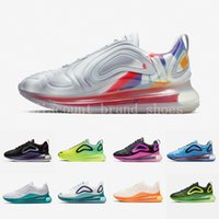 Nike Air max 720 shoes Kpu Fuel Orange Black Speckle Pride Spirit Teal Men women Running Shoes Gym Red Obsidian Easter Pack Total Orange Mens Sports Sneakers 36-45