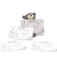 Hotsale 500 قطعة / الوحدة 3x5 سنتيمتر أقراط ديسبالي الأزياء والمجوهرات الملونة بطاقة المنظم الكلمات diy اليدوية القرط مربط بطاقة التعبئة