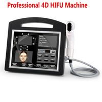 Professional 3D 4D Hifu Machine 20000 Снимки Высокая интенсивность сфокусированные Ультразвуковое лицо Лифт Удаление морщин Кожи затянуть тело для похудения