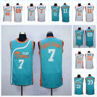 e0e09ddc109 Wholesale flint tropics jersey for sale - Mens Flint Tropics Semi Pro Moive Jersey  Jackie Moon