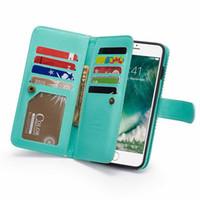 Moda Şerit Cüzdan PU Deri Kılıfları iphone 6 6 s 7 8 artı kart yuvaları iphonexs max xr x kapak