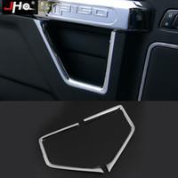 ABS Chrome Accessoires Sous garniture de porte Handl Couverture intérieure Kit pour Ford F150 15-19