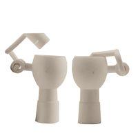 Pontas de unhas de cerâmica Pontas de unhas 14mm 18mm masculino fêmea fêmea equipamento cerâmico braço de braço da mão ferramenta de água tubulação de água tubos de vidro bongo