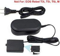 ACK-E10, FlyHi ACK-E10 Adattatore CA DR-E10 accoppiatore CC Charger Power Kit (ricambio per LP-E10) per Canon EOS Rebel T3, T5, T6, T7, T100