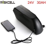 Yüksek kaliteli tigershark elektrikli bisiklet pil 24 v 30ah lityum iyon pil paketi için USB ile elektrikli Scooter için LG ...