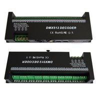30 canali RGB decodificatore dmx512 led strip controller dmx 60A dimmer dmx driver PWM Ingresso DC12-24V 30CH dmx decoder controllo luci