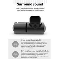 Los gemelos inalámbrica Bluetooth 4.2 TWS auricular estéreo del auricular del deporte en la oreja los auriculares auriculares TWS Con 1200mA zócalo de carga para Smartphone