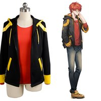 Accessori Accessori Costumi Cosplay Nuovo Originale Mystic Messenger 707 EXTREME Saeyoung / Luciel Choi 7 Outfit Costume Cosplay Jacket + Shi ...