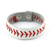 New arrival hot selling 2019 PU Leather Softball Bracelet Ba...