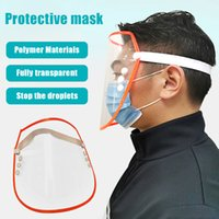 Protective Masks Anti- spitting Protective Transparent Mask D...
