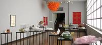 Pure colorido laranja Pendant Chihuly Estilo Chifre Chandelier Art Decoração Iluminação mão soprado vidro Murano luminária