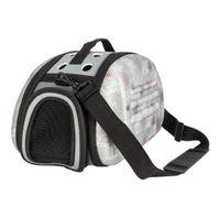 고양이 거품 핸드백 접이식 애완 동물 운송인 항공 승인 된 야외 여행 강아지 숄더 가방 작은 개 미국 재고