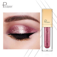 Pudaier Liquid Glitter Eyeshadow 18 Colors Waterproof Pigmen...