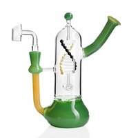 7. 9 Inchs Tornado Bong Water Pipes sovereignty Glass Bubbler...