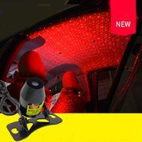 Ambiance de la voiture Ambient Star Light DJ Musique Colorée Musique Son Lampe Télécommande Projecteur Contrôle vocal Contrôle LED Lumière USB Plug