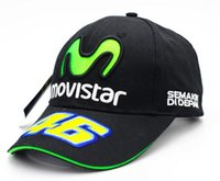 MOTO. GP Rossi 46Rossi movistar embroidered baseball cap viso...