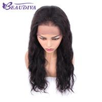 Beau Diva Humano Lace cabelo Frente Perucas 13x4 Lace frontal onda do corpo de Remy Malásia cabelo rendas fontal perucas para mulheres nenhum derramamento NoTangle