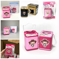 100PCS mini Lavado soplo todos los gadgets Lavadora Niños Calcetines automáticas de maquillaje Cleaner herramienta Pincel de lavado de juguete Juego de muebles RRA2173