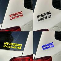 Advertencia reflectante posterior de la seguridad de conducción de parachoques Mi sustos yo también Adhesivos
