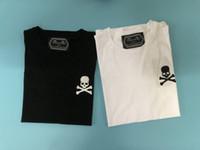 2019 Mens Summer Marque T-shirt Hommes manches courtes Broderie Crâne T-shirt Hommes Designer T-shirt T-shirt Tees Mode T-shirts de haute qualité T-shirts