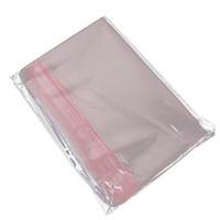 Borse di immagazzinaggio in plastica per sigillo autoadesivo trasparente Borsa da stoccaggio Poly opp Poly con sacchetto di imballaggio al dettaglio del foro di appendere
