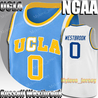NCAA UCLA Russell Westbrook 0 LeBron James 23 Jersey Kevin Durant 35 Jerseys James Harden 13 Stephen 30 Curry College Basketball Jersey