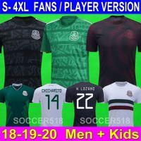 Chicharito Player Version Mexico Soccer Jerseys G. Dos Santos H. Lozano Football Shirts R. Marquez