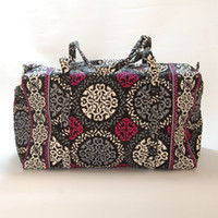 VB Large Duffels Canterberry Prints Overnight Bags Retire Pr...