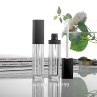 10ML 50pcs / lot Arcylic Vide Gloss Brillant Tube, Tube Rechargeable Rouge À Lèvres haut de gamme, Top qualité crème cils Conteneur de cosmétiques