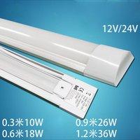 20pcs / lot 2ft 3ft 4ft LED Batten Tube Light Cold White / Warm Whtie 2835SMD LED Light, AC85-265V T8 Explosión de luz de purificación