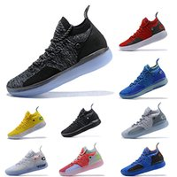 45f9f4531a51 New Arrival. 2019 KD 11 EP Designer Black Foam Pink Paranoid Oreo ICE Mens  Basketball Shoes Kevin ...