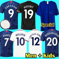 19 20 ABRAHAM MOUNT Special New Blue 50th soccer jersey GIRO...