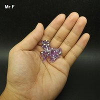 Craft Prop Purple Unicorn плоская задняя смола Kawaii DIY Craft Mini модель игрушки Twinkle Stars